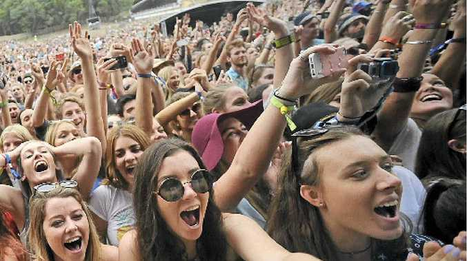 TOO LOUD: The Department of Planning and Environment fined North Byron Parklands $3000 last week for excessive noise during the Splendour in the Grass festival in July.