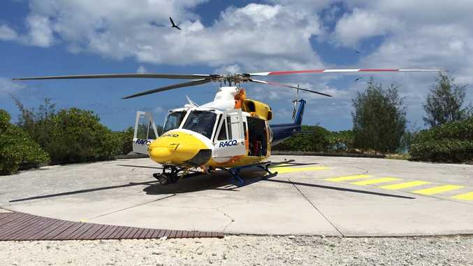 RACQ Capricorn Rescue has transported two people from Heron Island, in separate incidents.