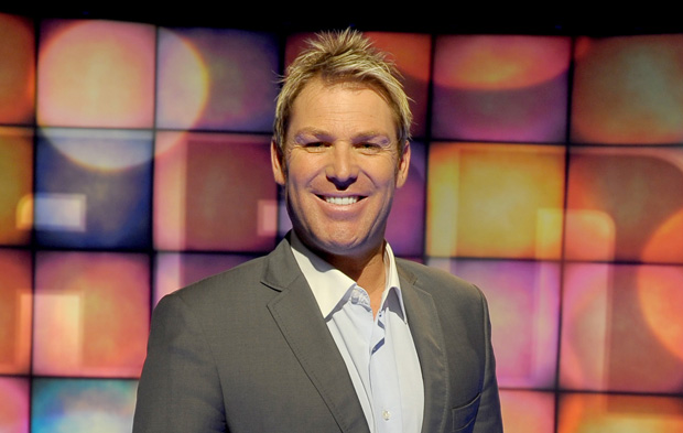 Shane Warne... one of the greats of Australian cricket.
