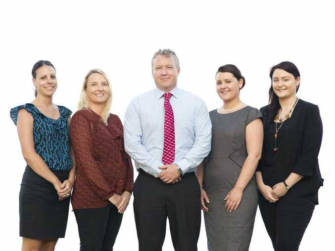The team from Hinton Sargent Lawyers, Caloundra.