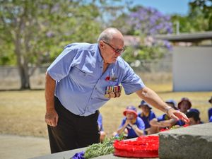 Remembrance Day in Calliope