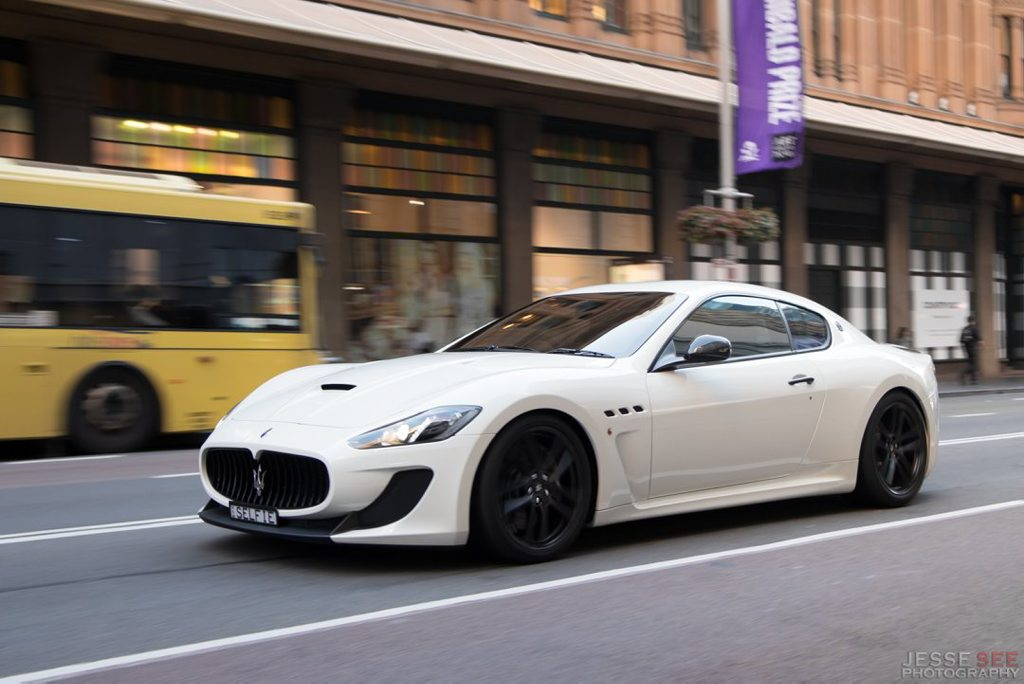 The 2014 Maserati GranTurismo MC Stradale.