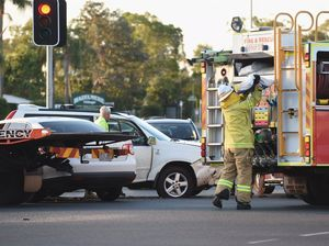 One lane closed during peak hour after Eli Waters crash