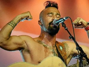 Childhood of extremes had positive side for Nahko Bear