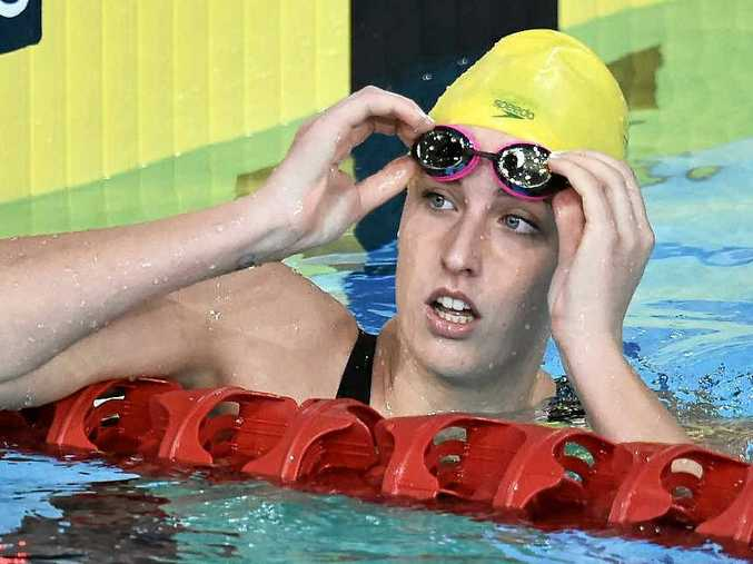 ROOM FOR IMPROVEMENT: Brittany Elmslie is focused on performing at next year's nationals.