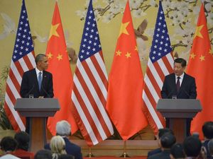 China and US strike greenhouse gas deal