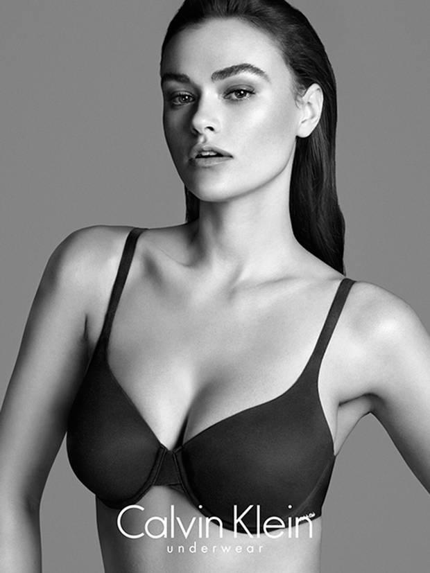 Elle magazine described UK size 14 Dalbesio as 'plus sized' in the fashion world