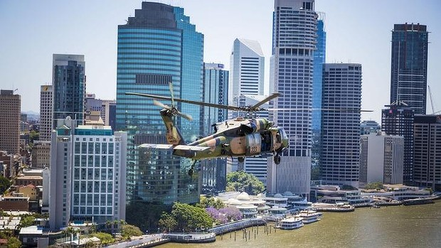 There are fears security personnel could outnumber local residents in the CBD during the G20 weekend. Photo: Glenn Hunt