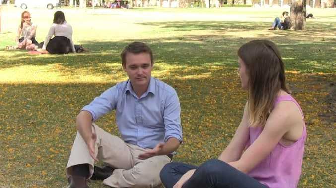 Young federal MP Wyatt Roy is interviewed by journalism student Sophie Foster about the G20 summit.