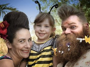 Beehives and beeards sets this year's Bangalow Show buzzing