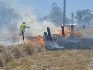 Local resources will be stretched to battle any firestorm