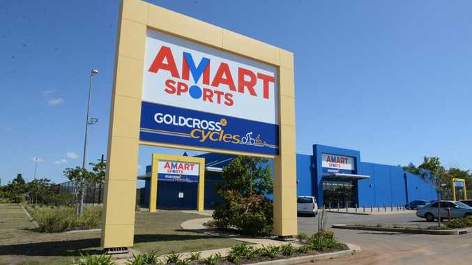 AMART SPORTS: The new store in Johanna Boulevard. Photo: Mike Knott / NewsMail