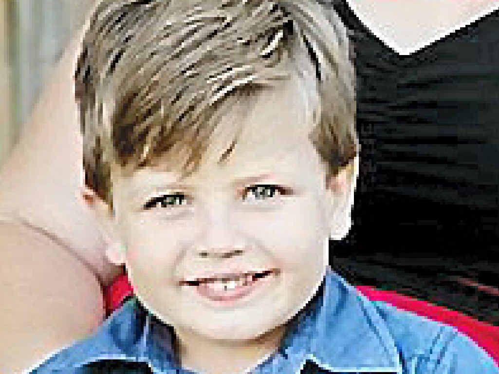 FIGHTER: Heath Pearce, who has been battling leukemia.