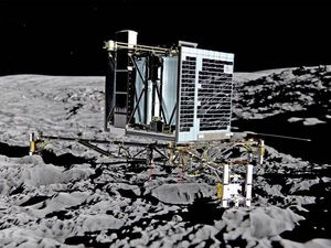 Space probe may have 'bounced' in comet landing