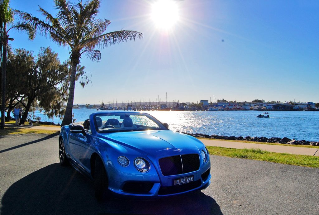 The Bentley Continental GT V8 S Convertible.