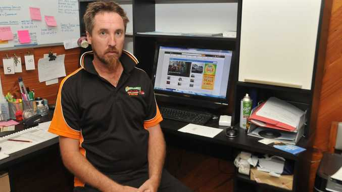 Greenacres Motel and Caravan Park Benaraby owner Paul Cox says he lost business from not having the internet for nearly a week.