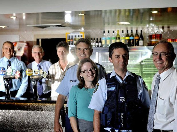 GOOD RESULT: Lismore City Liquor Accord members are pleased with the drop in alcohol-related crime.