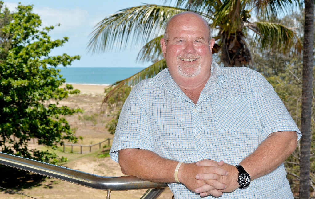 GREAT LOCATION: Johann Scholtz will be at the helm of cafe, bar and restaurant Aloha when Kohuna Beachside Resort opens at Bucasia.