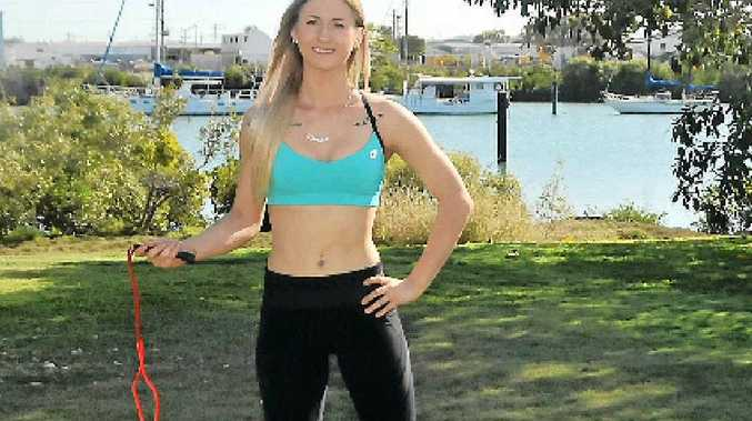 FIT FOR LIFE: Danielle Oakey is this week's Girl Friday.