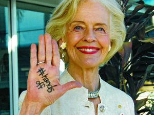 Quentin Bryce supports #HandsOff pledge