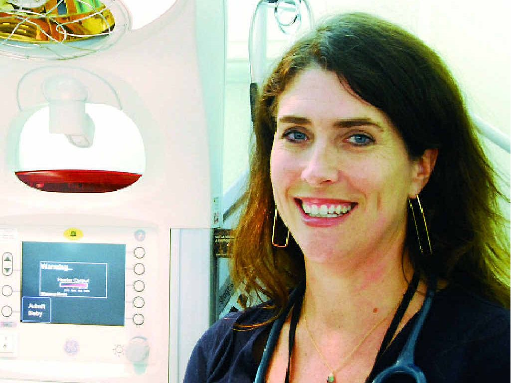 ON DECK: Gladstone Hospital paediatrician Sara Bluefeather has moved to Gladstone from Albuquerque, New Mexico.