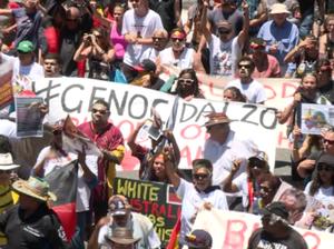 G20: March against Aboriginal deaths in custody