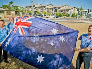 Flags to fly as memorial gets new home