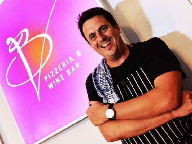 CELEBRITY: Darren Simpson is now executive chef at BV Pizzeria & Wine Bar, Kawana Island.
