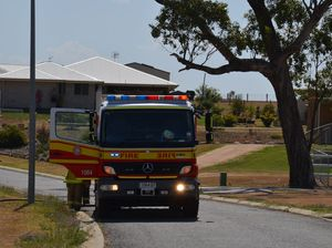 Fire sparked in Condavale Estate this afternoon