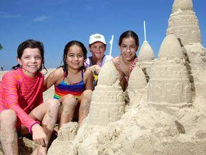 Ballina Prawn Fest sand castle comp