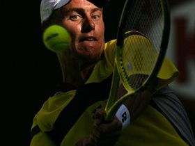 Lleyton Hewitt earns second round US Open match-up