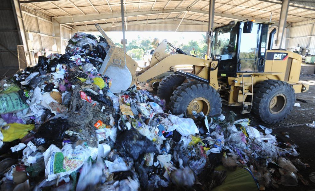 Cherbourg's recycling centre may be under threat.