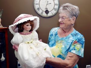 Passing kindness on: doll to be raffled for renal unit
