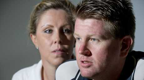 Toowoomba couple Steve and Nicole Wilkes speak about the night Steve was king hit in Toowoomba's CBD.