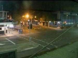 Time lapse of Rockhampton CBD on a Friday night