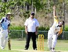 Tyran Eggmolesse playing for Gladstone against Callide Valley in the under-21 representative match at Sun Valley Oval.
