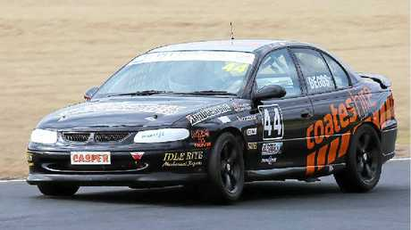 Gary Beggs was one of many Warwick drivers to perform strongly at Morgan Park.
