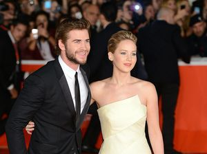 Jennifer Lawrence admits to Liam Hemsworth kiss off-screen