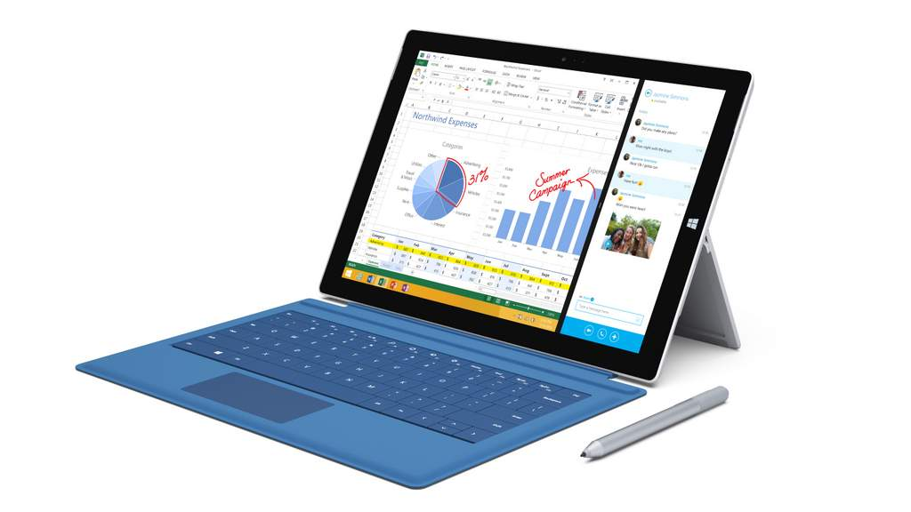 The Microsoft Surface Pro 3 is being recommended for higher end users.