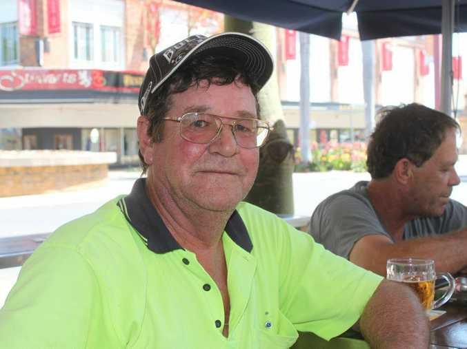 Rockhampton truck driver Phil Tout at the Oxford Hotel doesn't want to be driving trucks until he's 70, taken November 16 2014. Madeline McDonald / Rockhampton Morning Bulletin