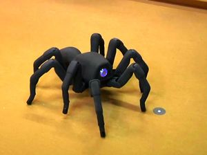 This toy combines puppetry, mobility, and utter terror