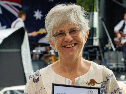 The 2014 Environmental Achievement Award recipient Margaret Lane.