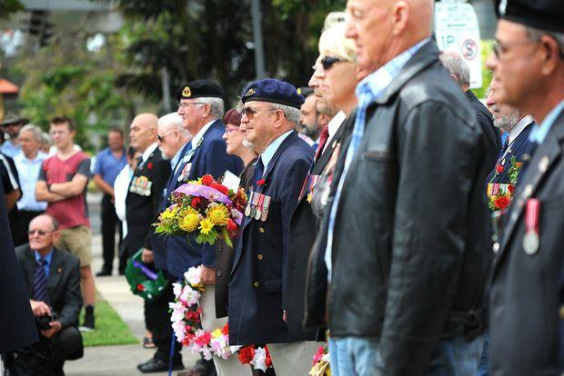 Coffs Harbour Rememberance Day. November 11, 2014 Photo: Leigh Jensen / The Coffs Coast Advocate