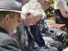 SILENT REFLECTION: President of Toowoomba Legacy David Melandri . Photo Bev Lacey / The Chronicle