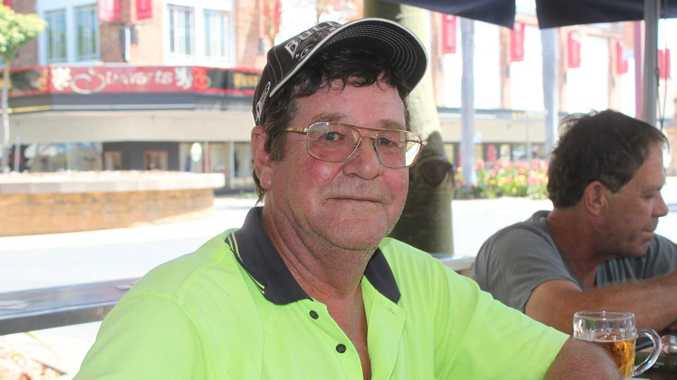 Rockhampton truck driver Phil Tout at the Oxford Hotel doesn't want to be driving trucks until he's 70, taken November 16 2014. Madeline McDonald / Rockhampton Morning Bulletin