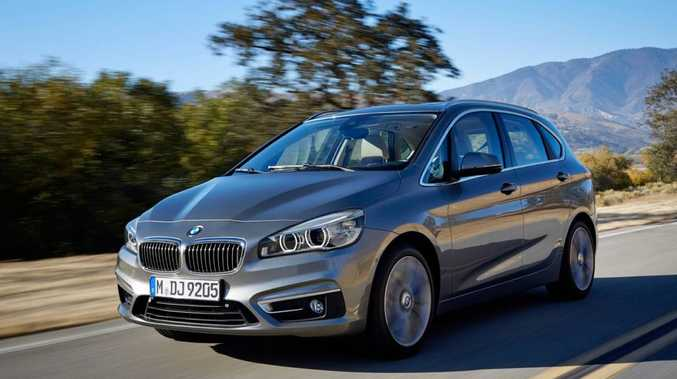 The BMW 2 Series Active Tourer.