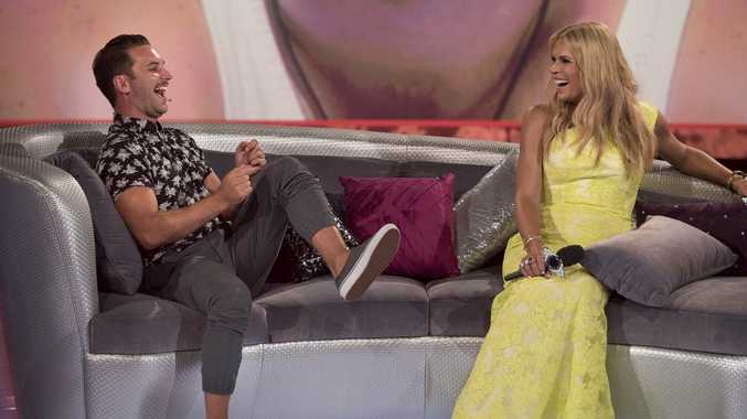 Big Brother evictee David Hodis talks to host Sonia Kruger.