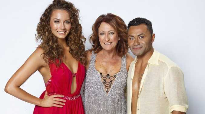 Dancing With The Stars finalists, from left, Ricki-Lee Coulter, Lynne McGranger and David Rodan. Supplied by Channel 7.