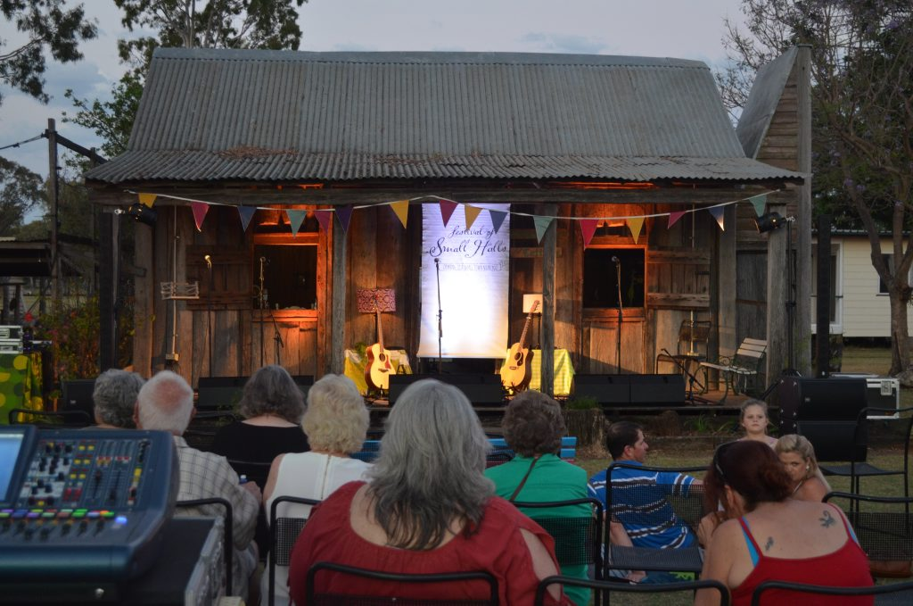 The Wongongera Cottage at the Chinchilla Museum hosted a number of performances for the Festival of Small Halls. Photo Chris Honnery / Chinchilla News