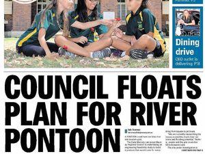 River pontoon concept sparks community division